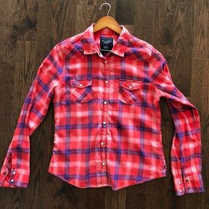 AMERICAN EAGLE OUTFITTERS Flannel - large